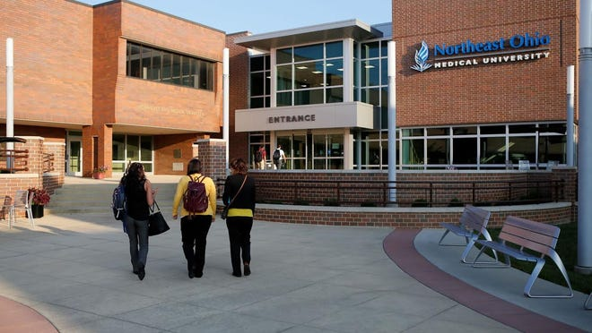 Northeast Ohio Medical University's phased-in return to campus will move to the next stage on Monday.