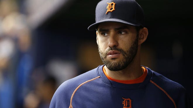 With Miguel Cabrera and Victor Martinez slumping and rightfield defense a revolving door, J.D. Martinez's return would be a welcome sight for the Tigers. He might DH before playing the field.