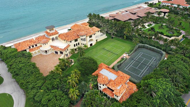 Brown Harris Stevens agents Liza Pulitzer and Whitney McGurk were honored this week by the agency for their role in last year's $27 million sale of an ocean-to-lake estate at 1340 S. Ocean Blvd. in Manalapan. They acted for the buyer opposite broker Jeffrey Ray.