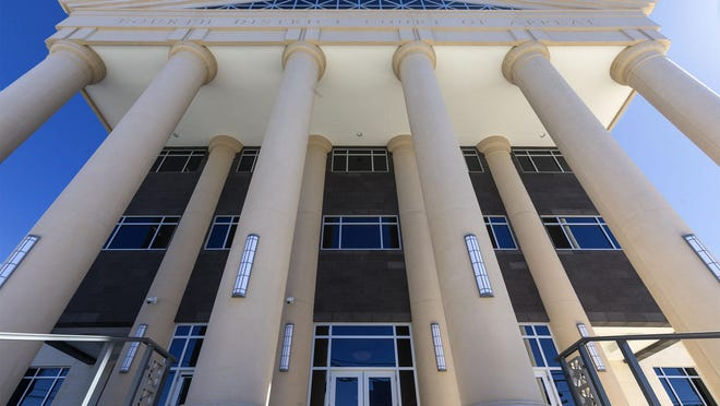 The 4th District Court of Appeal courthouse   in downtown West Palm Beach.