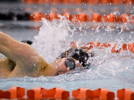 Susquehannock vs Northeastern swimming