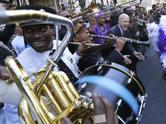Cincy Second Lines brings the New Orleans-style Second Line Jazz Parade tradition to Washington Park in Sunday.