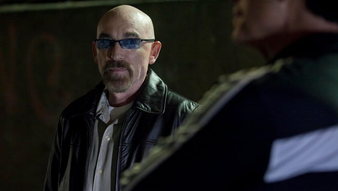 "Jackie Earle Haley in a scene from ""Criminal Activities."""