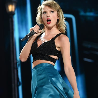 Taylor Swift visits Wells Fargo Arena on Thursday.