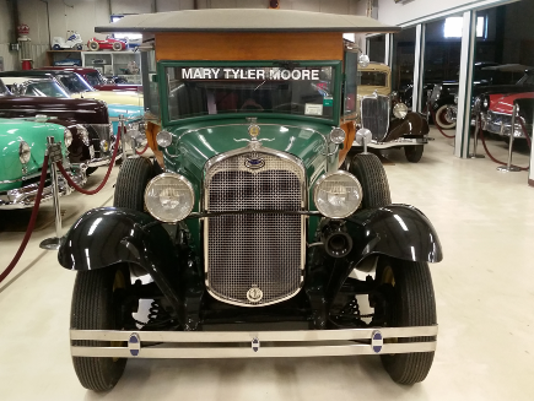 Mary Tyler Moore's 1931 Ford Model A Woody Wagon