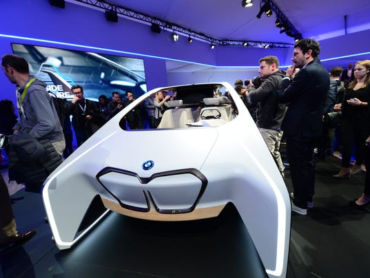 At Ces 2017 The Frenzy Over Self Driving Cars Is Palpable
