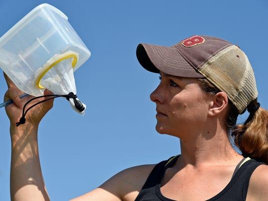 Kalli Martinez mosquito research