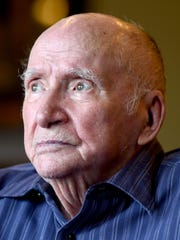 Ben Steele, a Bataan Death March survivor, artist and