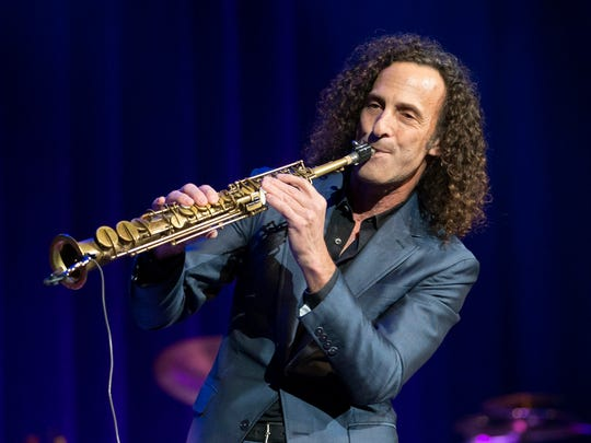 Kenny G will perform April 6 at the Palladium.