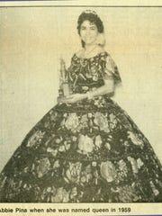 Abbie Piña was crowned Feria de las Flores queen in