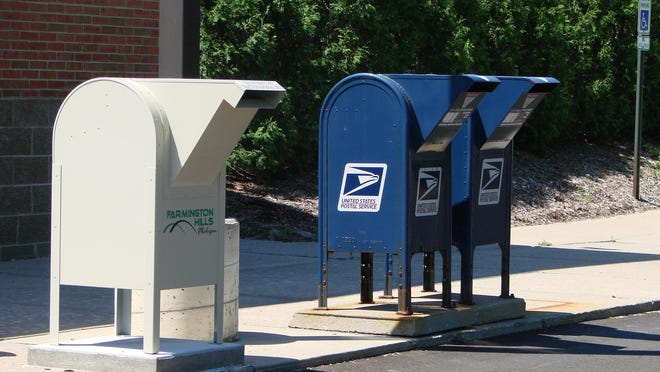 Pay your bills, drop off an absentee ballot and mail your letters all in one trip to Farmington City Hall.