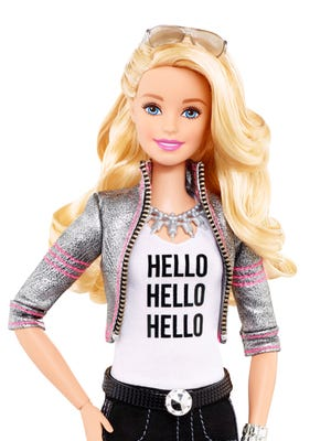 The No. 1 request Mattel says it hears from girls around the world is that they want to have a conversation with Barbie.
