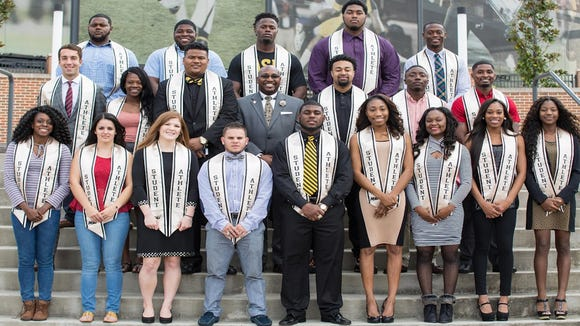 Alabama State had 20 student-athletes receive their college degrees today.
