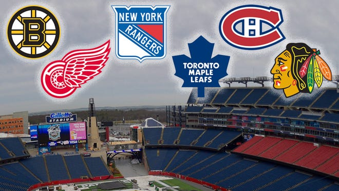 The Winter Classic will feature two Original Six teams.
