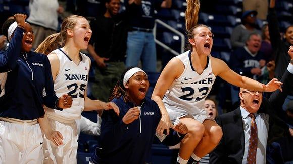 Xavier's women's basketball team defeated Creighton