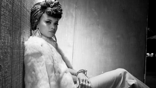 R&B singer Andra Day.