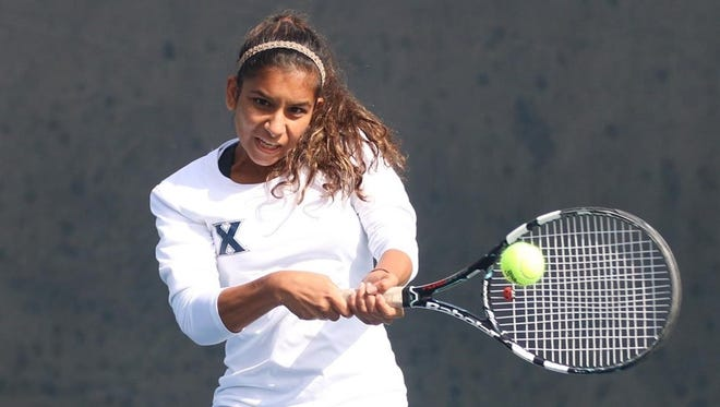 Xavier sophomore Amina Ismail won at No. 3 singles in Friday's NCAA tournament first round against Kentucky but the Musketeers lost the match 4-1 in Ann Arbor, Mich.