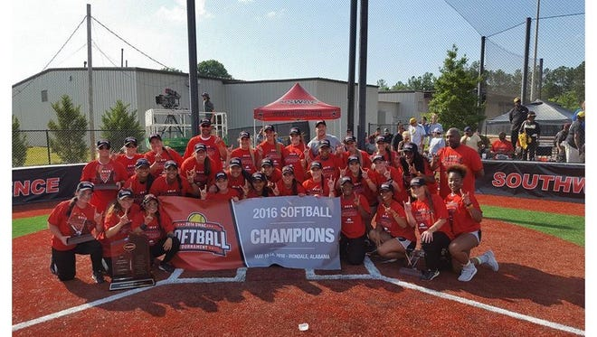 The Alabama State softball team will face defending national champion Florida in the NCAA Gainesville Regional on Friday.