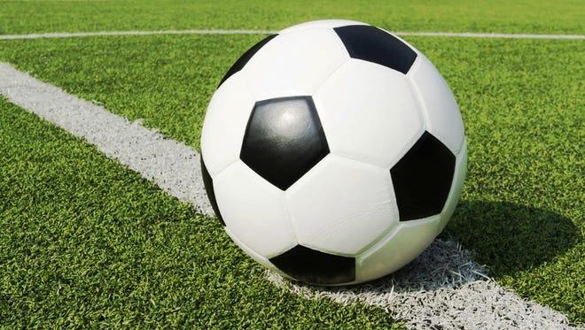 High school girls soccer.