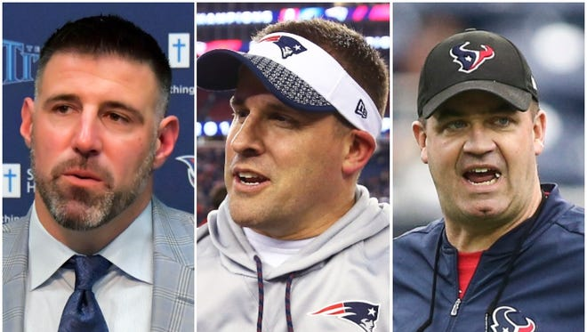 In 2018, the AFC South will feature three head coaches with distinct ties to Bill Belichick.