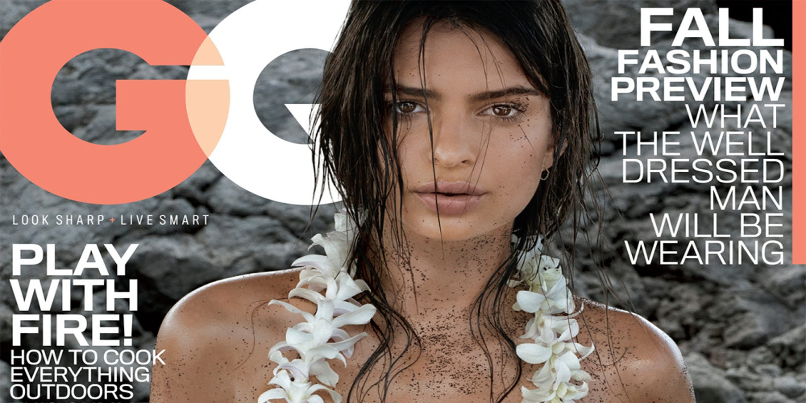 Ana Belen Topless blurred lines' model sizzles on topless 'gq' cover