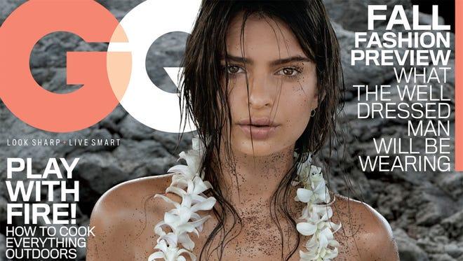 Emily Ratajkowski sizzles on 'GQ' cover.