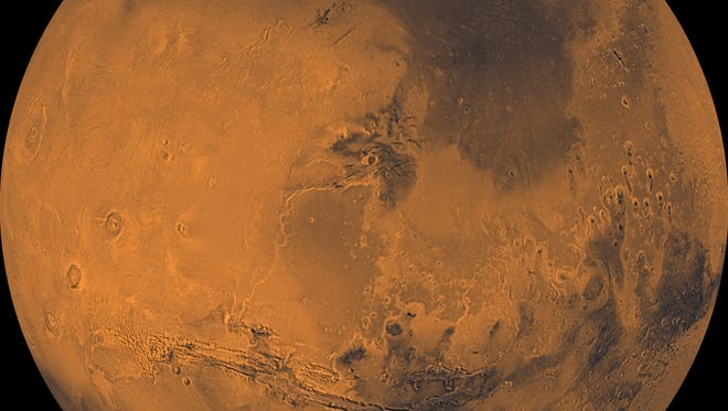 Mars is closer to Earth than it has been since 2003.