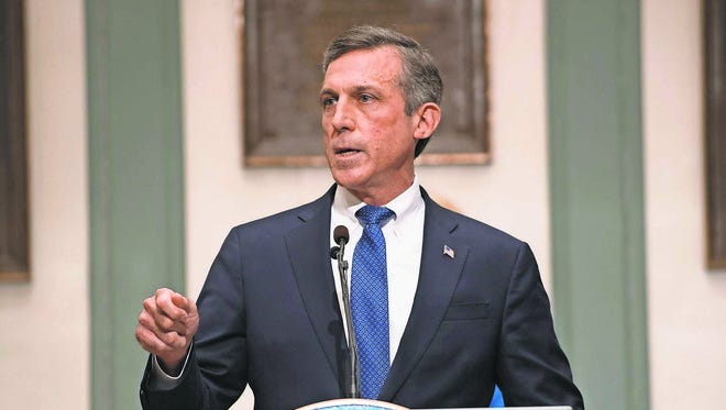 Gov. John Carney said proposed education cuts are necessary to balancing the state's budget.