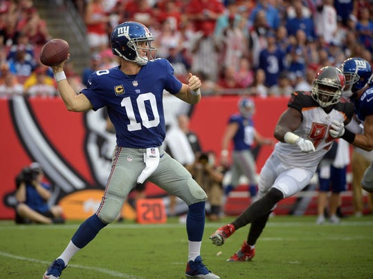 Winless Giants Chargers Game Trumps Manning Rivers Matchup