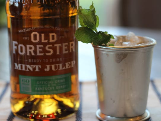 The Ten Second Mint Julep