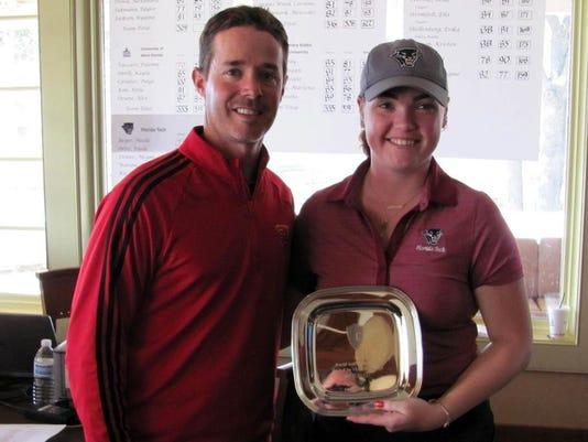 Noelle Beijer wins World Golf Invitational