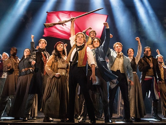 """The company of """"Les Miserables"""" performs """"One Day More."""""""