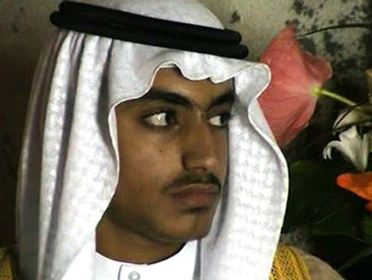 In this image from video released by the CIA, Hamza