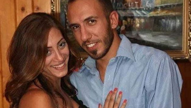 Joe Andoun, right, (seen with his wife, Michelle) is still missing in Beirut after a massive explosion at the port where he works security.