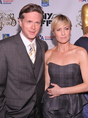 Cary Elwes and Robin Wright attend the 25th anniversary screening and cast reunion of 'The Princess Bride.' Elwes is writing a memoir about the film.