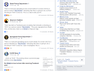 """A screenshot on Facebook shows the multiple reports of a Ray Andres targeting a school referred to as """"SHS."""""""