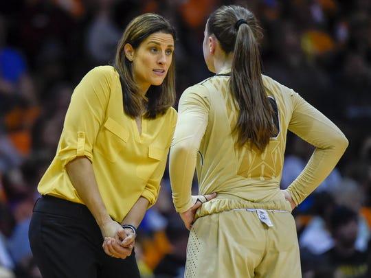 Vanderbilt Commodores head coach Stephanie White talks