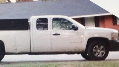 Police are searching for information about this stolen truck.