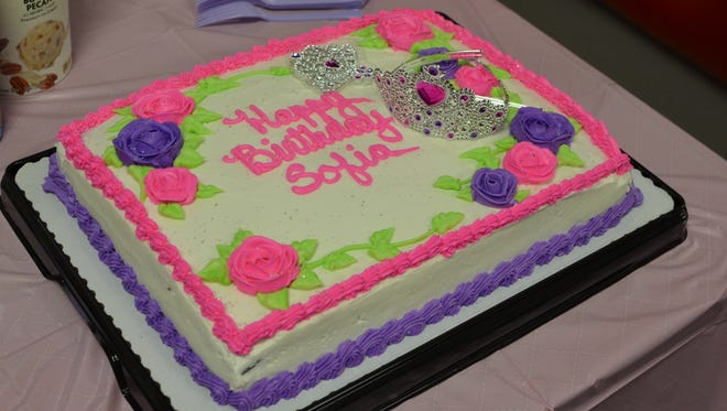 Kara Morrison purchased her daughter's 3rd birthday cake at Safeway for $26.