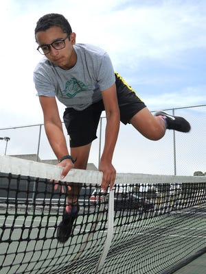 Ty Cohen was ready for every hurdle in his freshman season playing high school tennis, leading Ventura High to its first CIF-Southern Section title.
