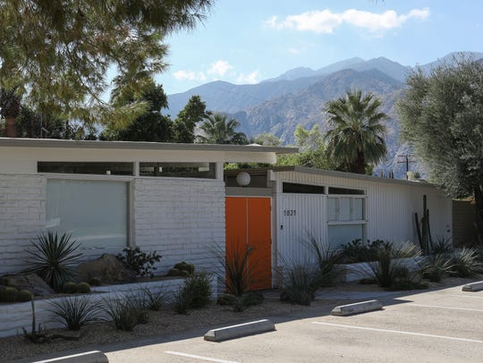 1821 E. Amado Road in Palm Springs was a former vacation