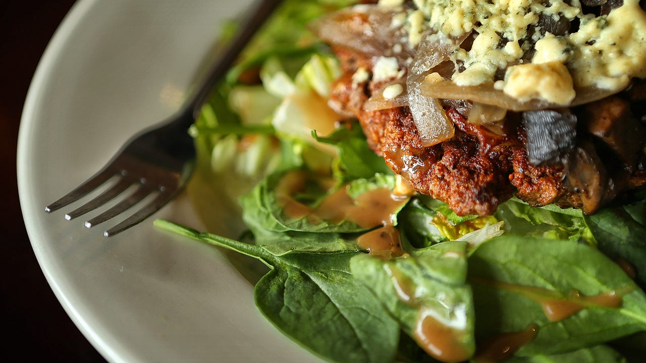 Overton Square burger joint LBOE offers all their burgers on top of a house salad as a healthier low carb option.