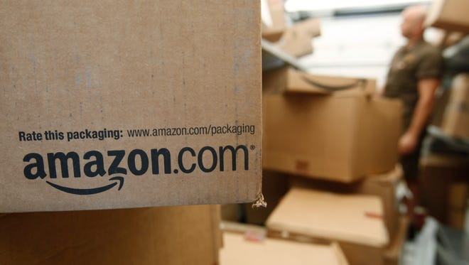 Amazon says mystery packages a shipped to a Massachusetts couple came from an unknown sender.