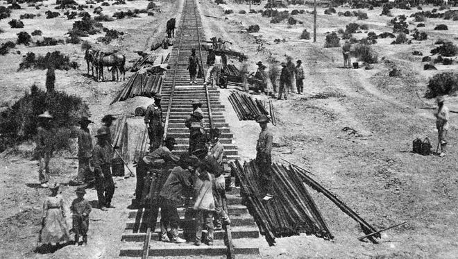 The Supreme Court wrestled Tuesday with how to handle former railroad beds that built the West.