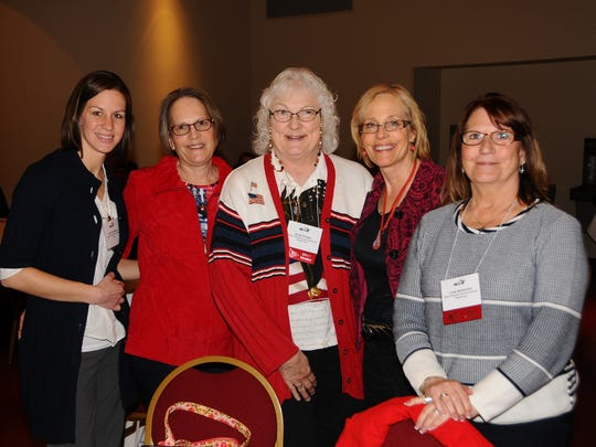 Ripon Medical Center was represented at the recent Wisconsin Hospital Association's Advocacy Day by, from left: Jennifer Stephens, Karen Gross, Sandy Krueger, Barb Benkoski and Julie Stellmacher.