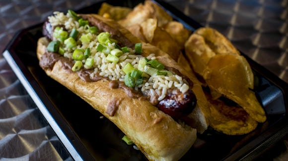Hot Dawg Stop is offering two Eat Lafayette specials