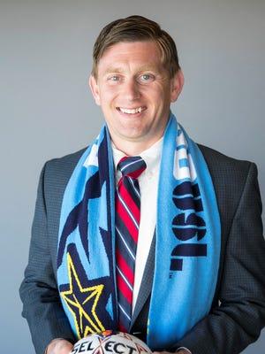 Andrew Forrest, new general manager for USL El Paso.