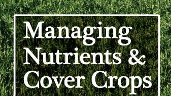 A workshop exploring the value of cover crops will be held Oct. 26 at Eskra Farm in Fredonia.