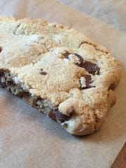 A chocolate chip cookie from the Village Bakery.