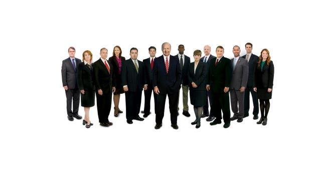 A image of the lawyers at Glenn Armentor Law Firm, courtesy of Glenn Armentor